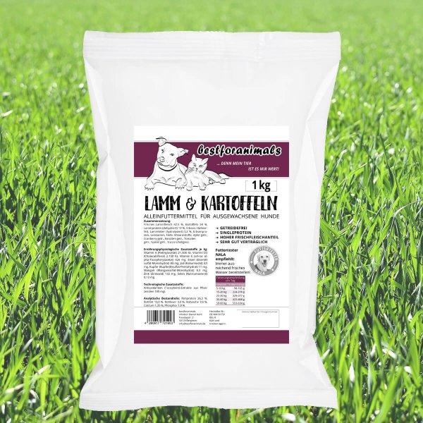 bestforanimals Dog Lamm & Kartoffel Adult 1 kg